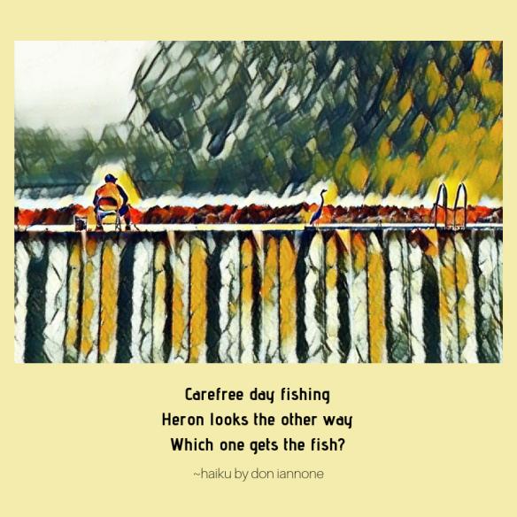 two fishermen haiku